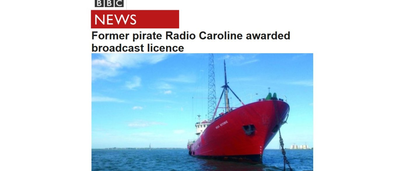 No more humiliation for Radio Caroline