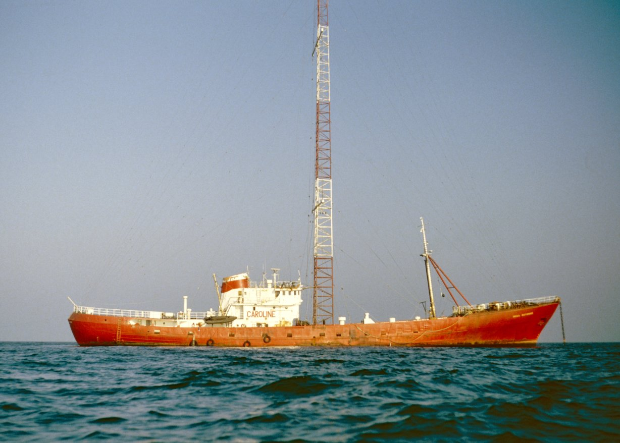 MV Ross Revenge (1983-1990) The third Caroline radio ship
